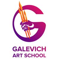 логотип Galevich Art School