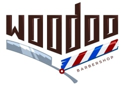 логотип WooDoo Barbershop