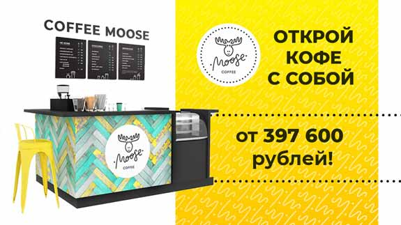 франшиза Coffee Moose