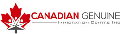 логотип Canadian Genuine Immigration Center
