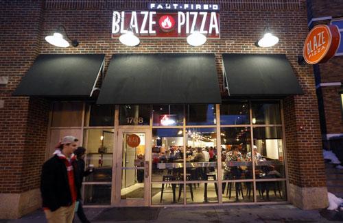 Blaze Fast-Fire'd Pizza