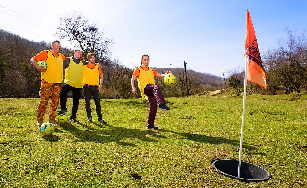 франшиза игры FootgolfTime & Expedition bar
