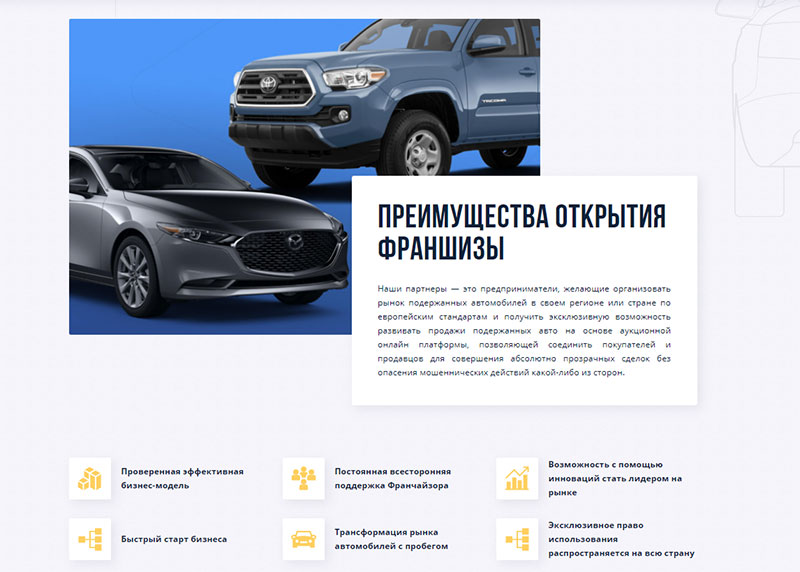 франшиза CarSale